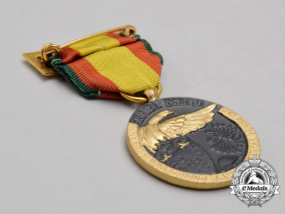 A Spanish Civil War Medal for the Campaign of 1936-1939