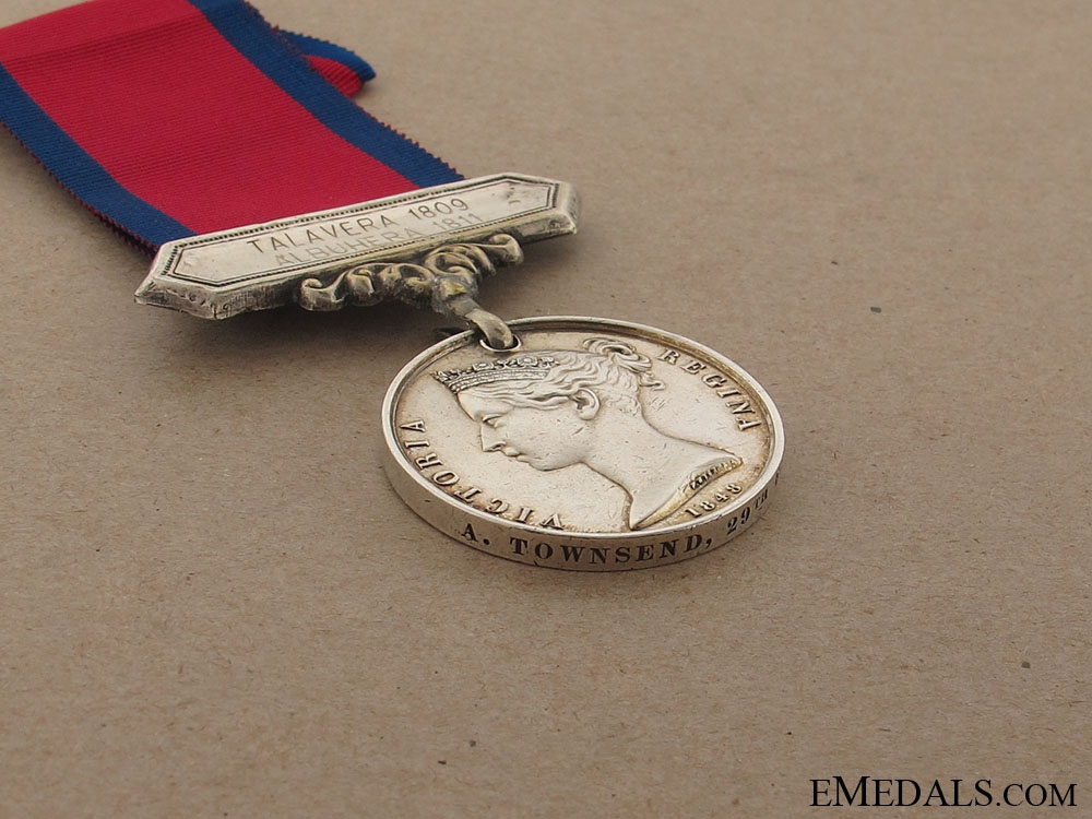 A Military General Service Medal to the 29th Foot