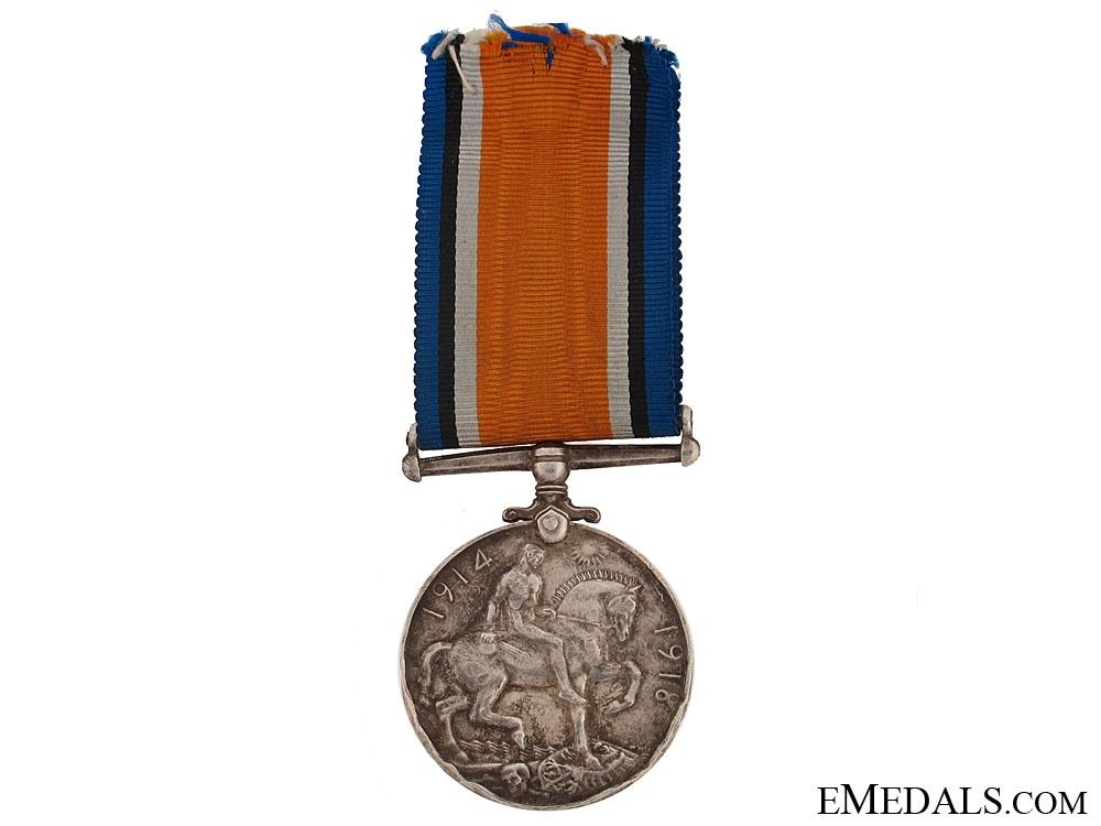 The British War Medal of Lt. Comm. R.V. Southwell