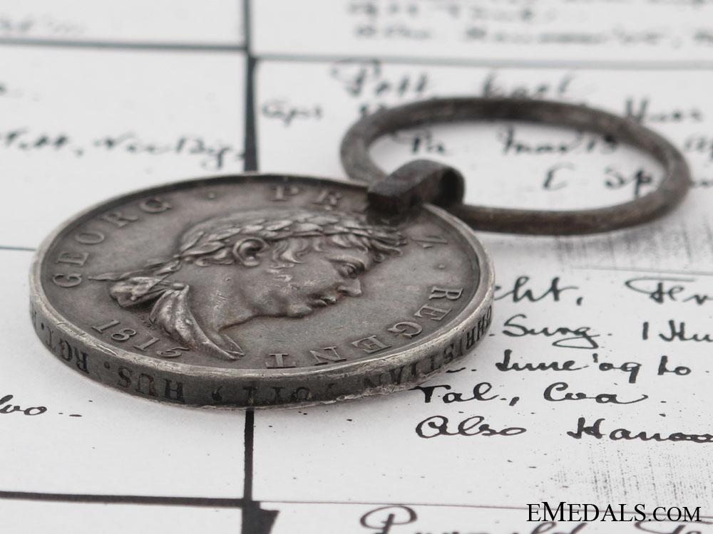 Hannover, Waterloo Medal 1815