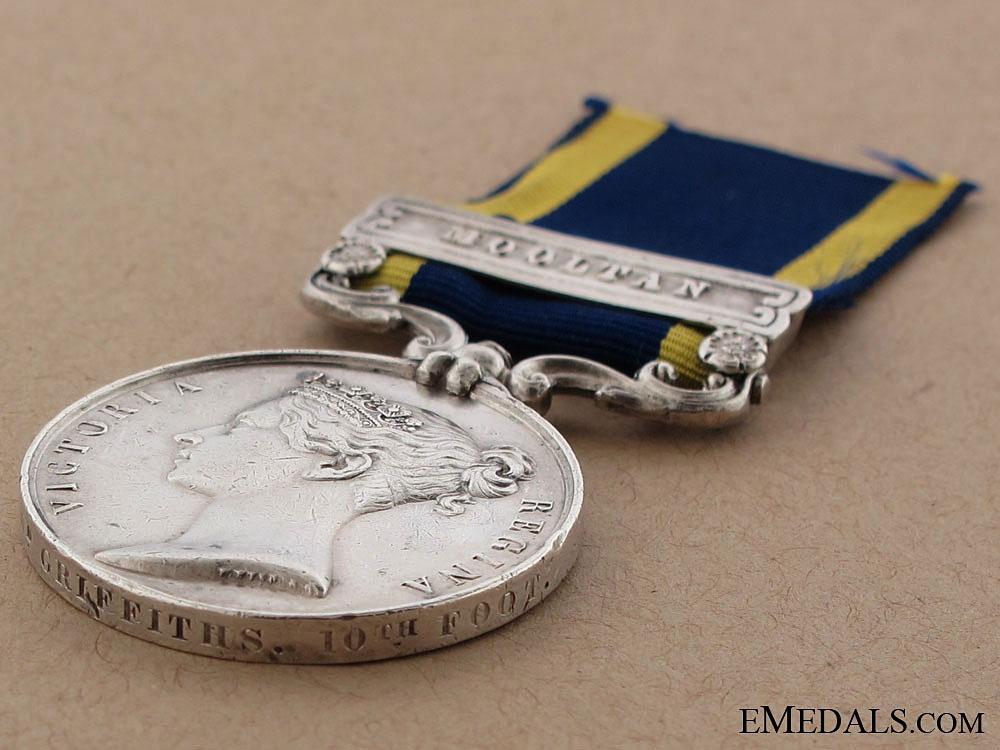 Punjab Medal, 1848-1849 - Mooltan Casualty