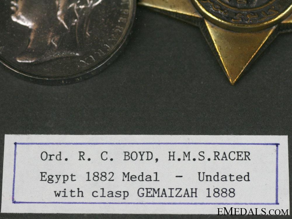 A Framed Egypt Pair
