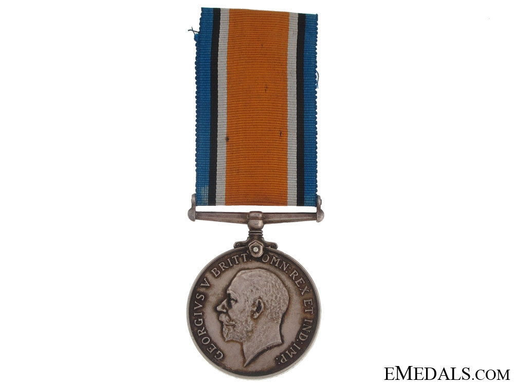 A British War Medal to a Battle of Jutland KIA
