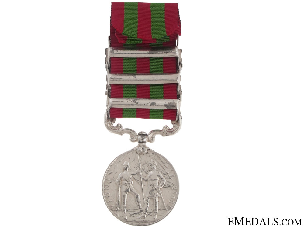 India Medal 1895-1902, Gordon Highlanders