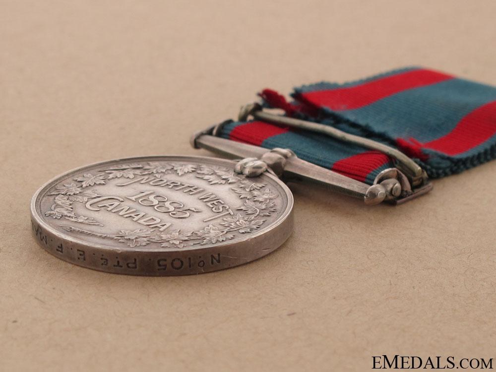 North West Canada Medal – SASKATCHEWAN Clasp