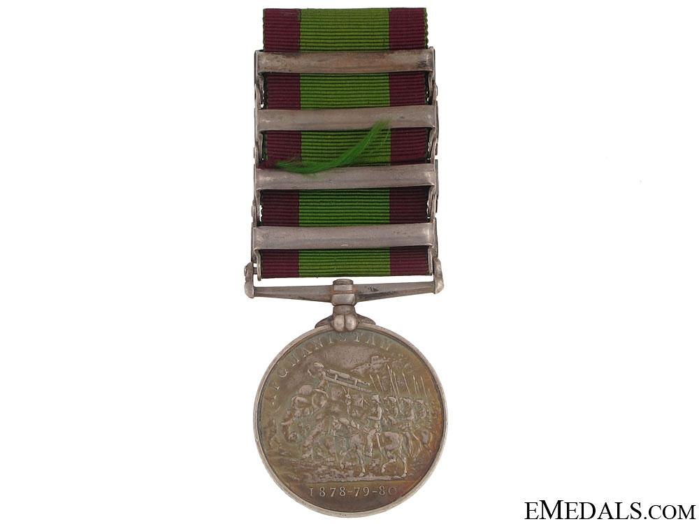 Afghanistan Medal, 1878-1880 - 4 Bars
