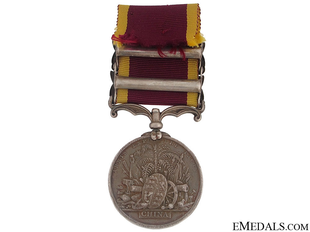 Second China War Medal 1857-60