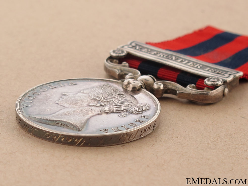 India General Service Medal 1854-95