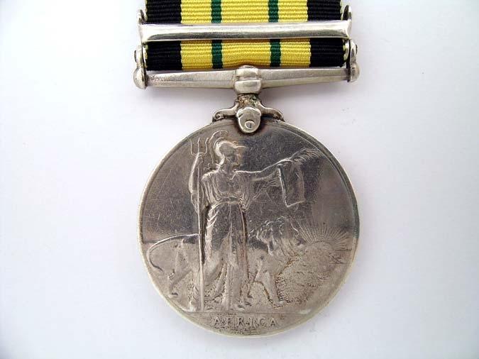 AFRICA GENERAL SERVICE MEDAL 1902-56