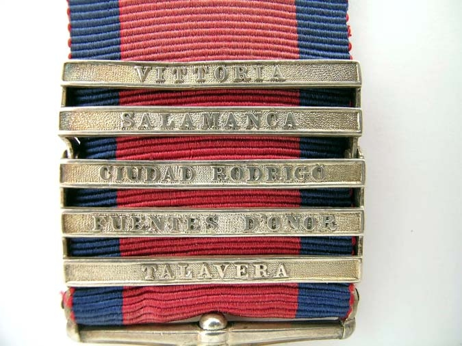 MILITARY GENERAL SERVICE MEDAL 1793-1814