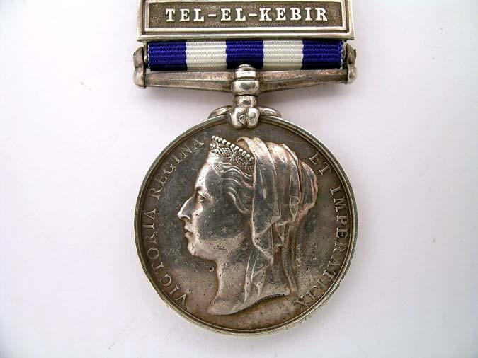 Egypt Medal 1882-89