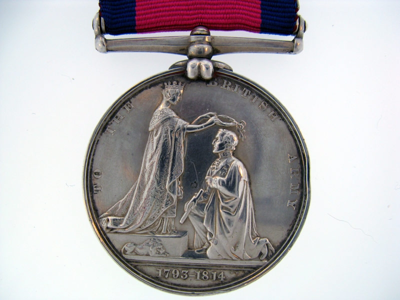 Military General Service 1793-1814, 7 clasps