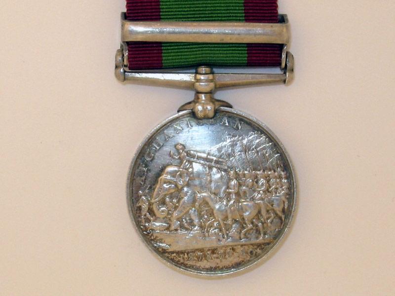 Afghanistan Medal 1878-80,