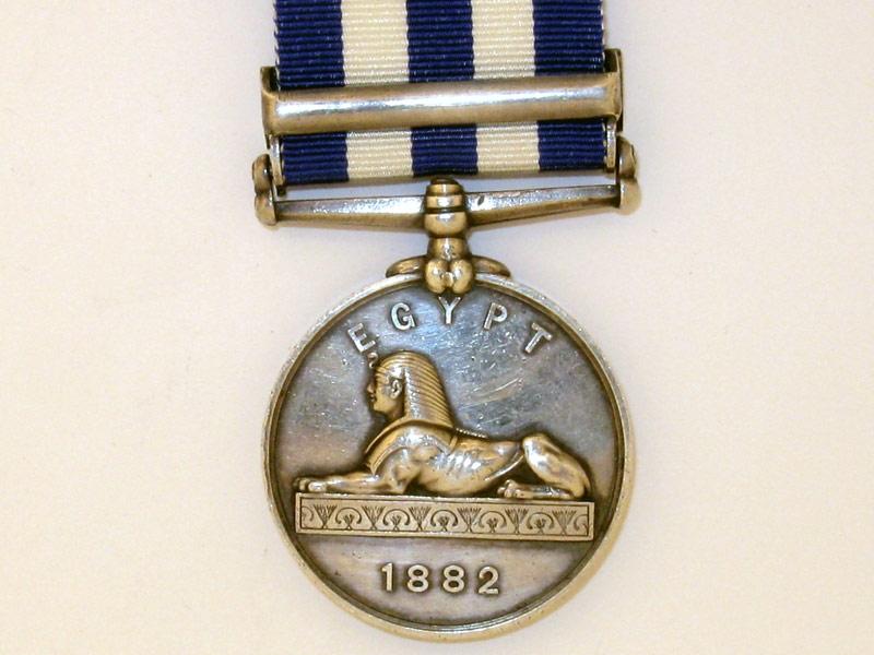 Egypt Medal 1882-89,