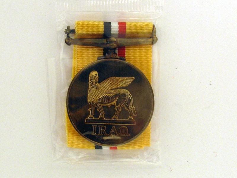 Iraq Medal,