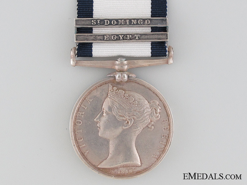 A Two Bar Naval General Service Medal