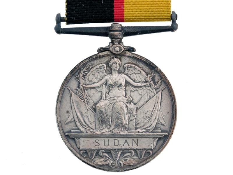 Sudan Medal 1896-98.