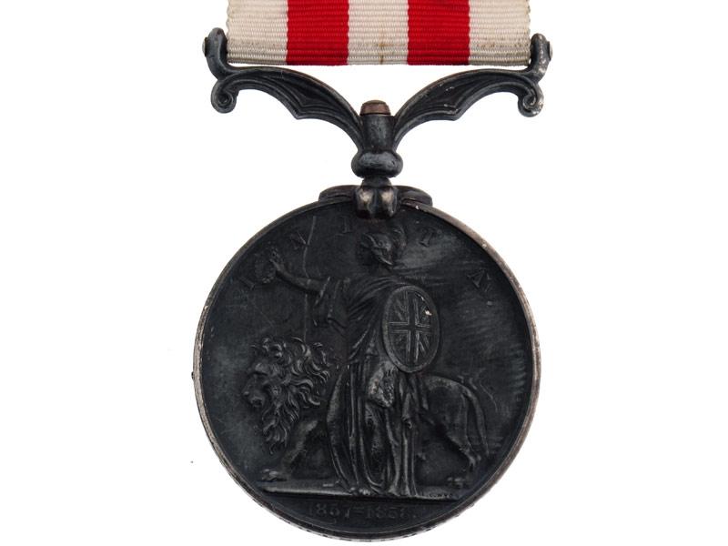 India Mutiny Medal 1837-1858