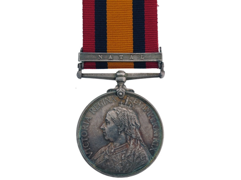 Queen's South Africa Medal  R.M.L.I (Natal)