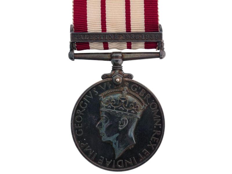 Naval General Service Medal 1915-62, Palestine