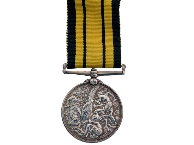 Ashantee Medal, HMS Active