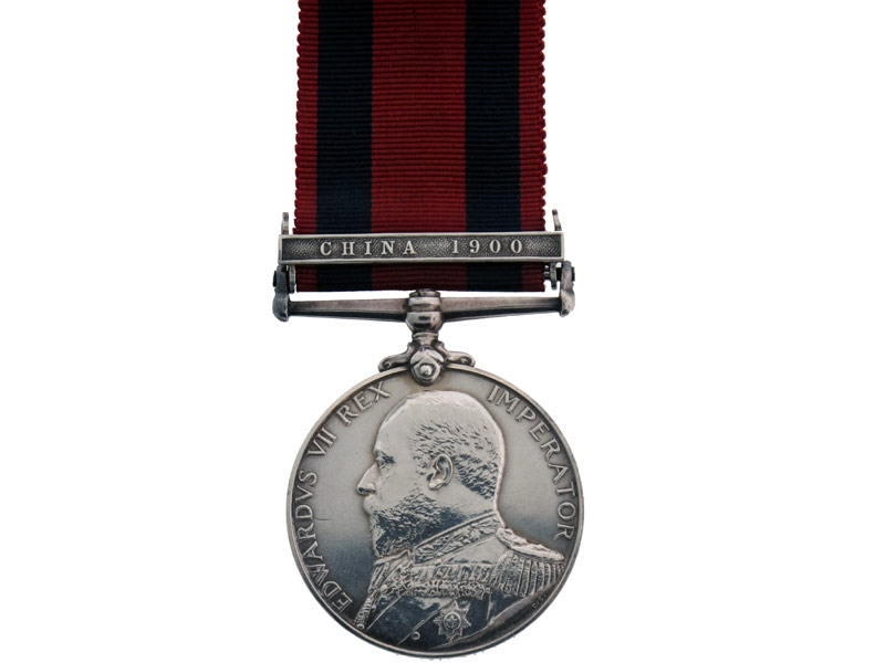 Transport Medal, China 1900.