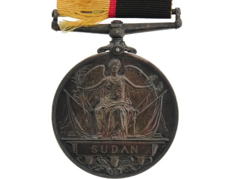 Queen's Sudan Medal 1896-98