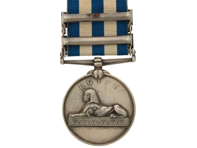 Egypt Medal, 1882-1889. R.M.L.I.