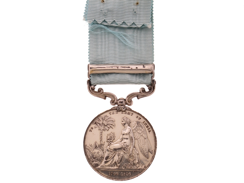 Army of India Medal 1799-1826,