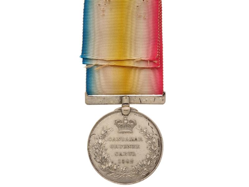 Candahar, Ghuzee and Cabul Medal 1841-42,