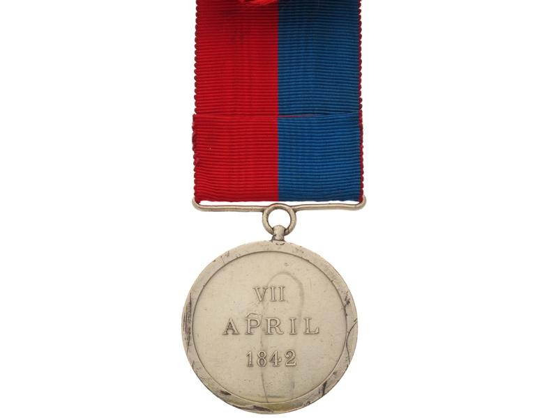 Jellalabad Medal 1841-42,