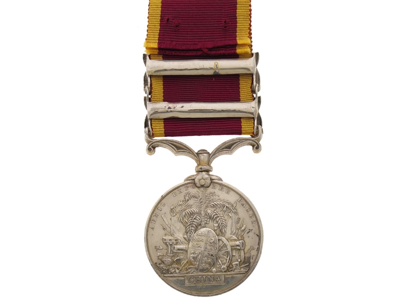Second China Medal 1856-60,