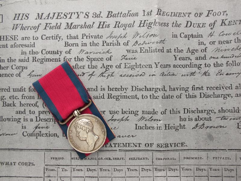 Waterloo Medal 1815  Royal Scotts