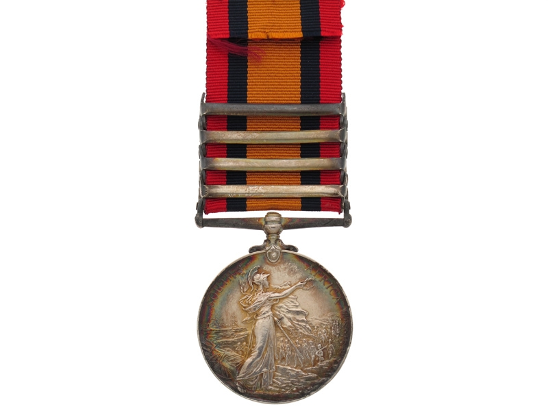 Queen's South Africa Medal – 16th Lancers