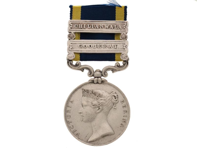 Punjab Medal - 61st Foot