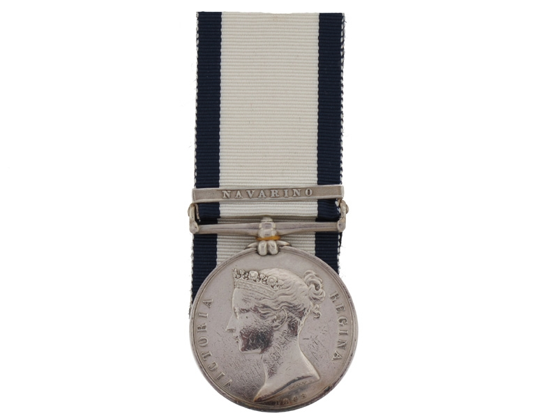 Naval General Service Medal, LM Daniel Hawkins