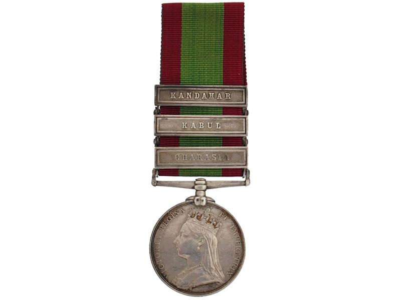 Afghanistan Medal, 1878-1880 - 72nd Highlanders