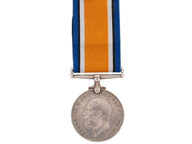 WWI British War Medal  - Tank Corps