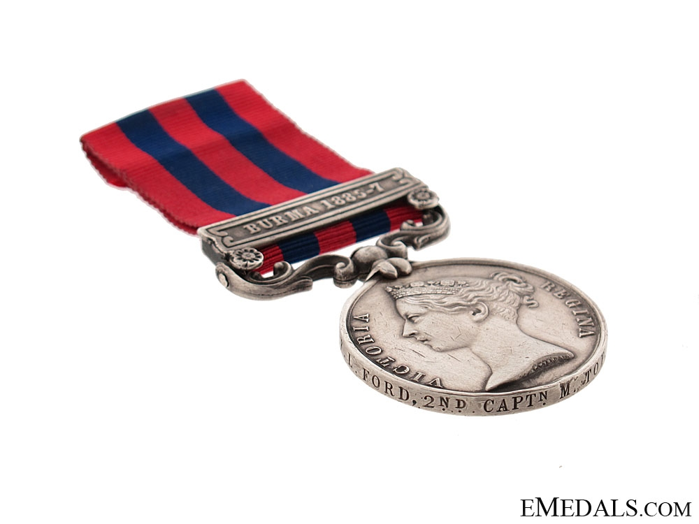 Indian General Service Medal 1854-95