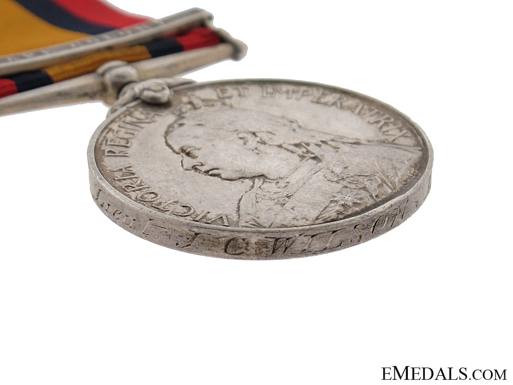 Queens South Africa Medal 1899-1902