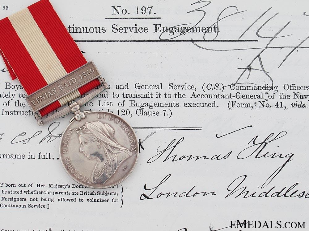 Canada General Service Medal 1866-70