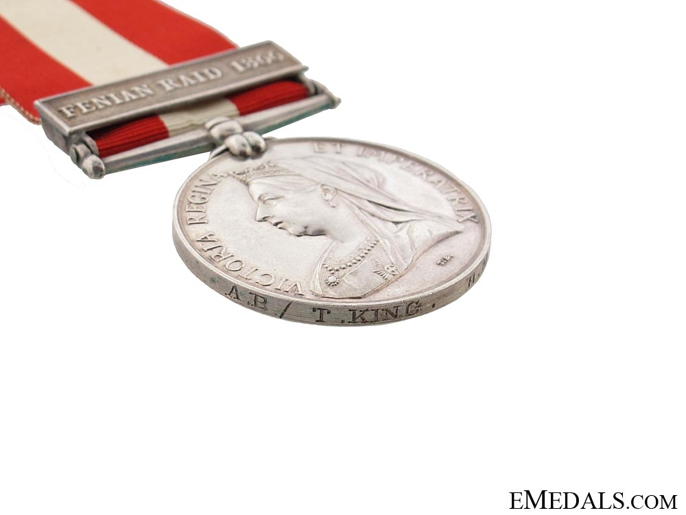Canada General Service Medal 1866-70