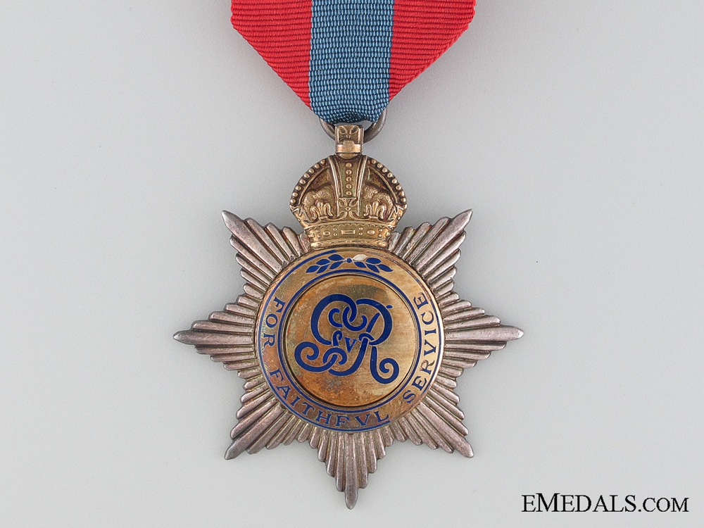 A George V Imperial Service Order