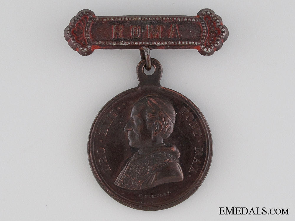 Bene Merenti Medal with Rome Clasp