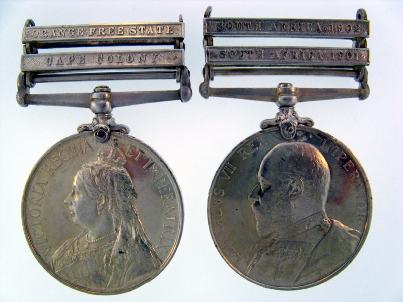 Pair, Lieutenant J.F. Rhodes, Royal Scots Greys