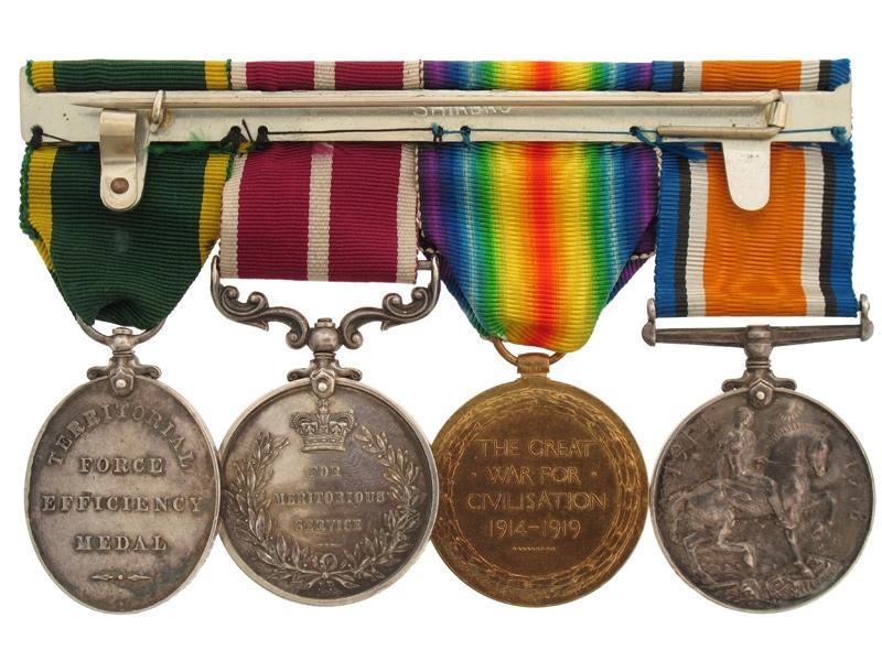 WWI  R.A.M.C. Group