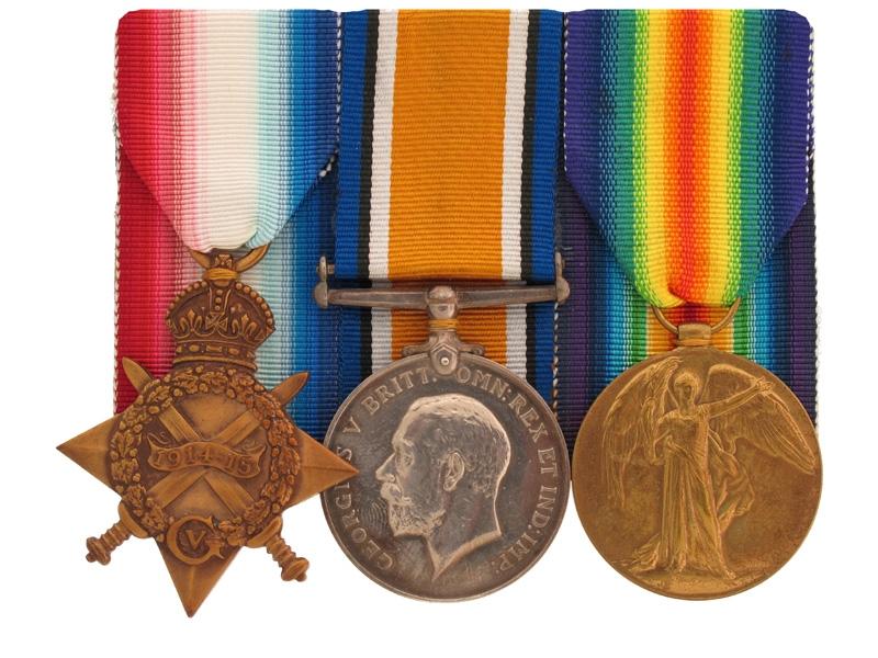 WWI Trio - Gunner G. Bowen, RNAS/RAF.