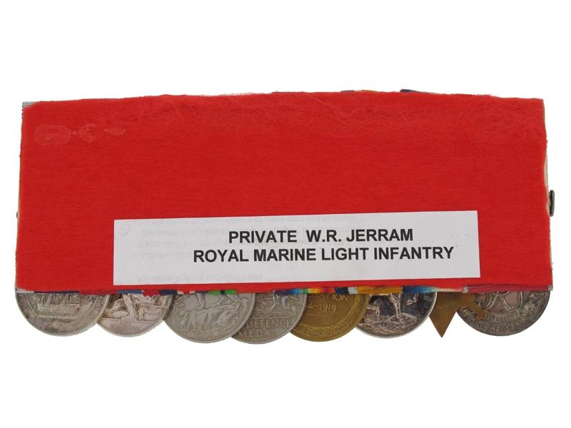 BEM Group - Private William R. Jerram, RMLI