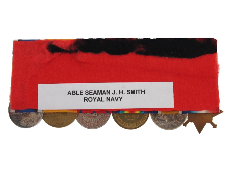 Able Seaman J.H. Smith- RN & London Fire Brigade