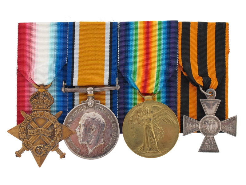 Russian & British Awards for the Battle of Jutland